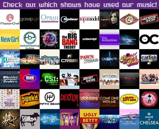 Placements TV Programmes